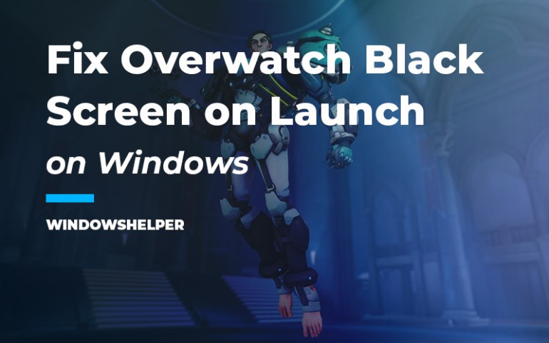 overwatch black screen