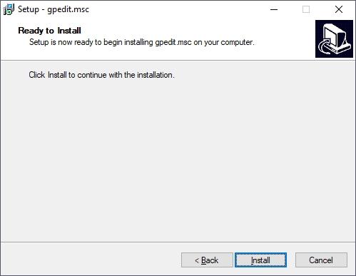 install gpedit.msc