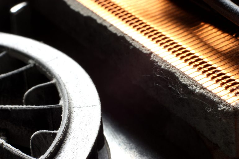 laptop dust