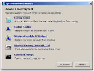 Recovery Environment How To Access The Recovery Environment In Windows. Recovery Environment