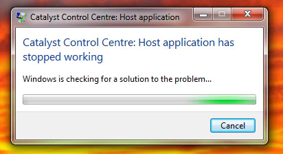 Are you getting the 'Catalyst Control Centre: Host application has stopped working' when ever you are trying to open the Catalyst Control Centre? Or maybe even when you just turn on your pc?  Don't worry, just follow these simple steps and your system will be working again in no-time. Catalyst Control Centre: Host application has stopped working Catalyst Control Centre
