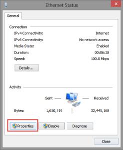 Ethernet Properties Windows Update Error 80246002 80246002