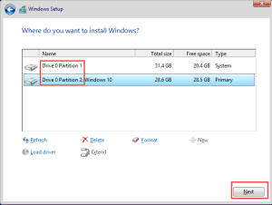 Choose Disk How-to Windows 8 dual-boot with Windows 10 Technical Preview dual-boot