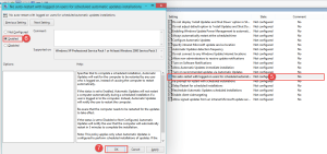 Windows 10: Group Policy Tutorial  Prevent Windows 10 from Automatically Restarting After Updating Prevent Windows 10 from Automatically Restarting After Updating