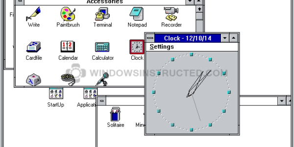 Windows 3.1 Clock