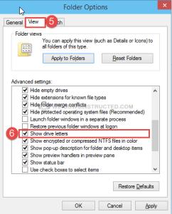 Windows 10: Show / Hide Drive Letter Show or Hide Drive Letter in Windows File Explorer Show or Hide Drive Letter in Windows File Explorer