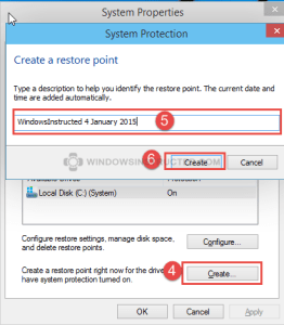 Windows 10 Create Restore Point How to Make a Restore Point in Windows 10 how to make a restore point