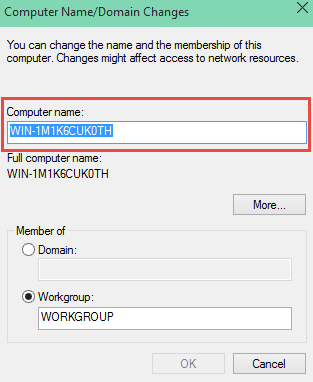 Change Computer Name How To Change the Computer Name in Windows 10 change the computer name in windows