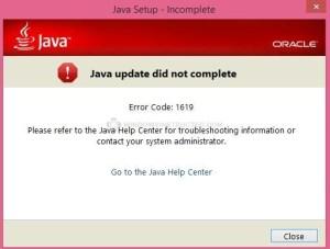 java issue Can not uninstall-install Java. java