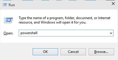 Run: Windows Powershell in Windows 10 How to Open Powershell in Windows 10 powershell in Windows 10