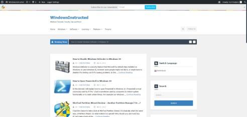 WindowsInstructed 11th May 2015