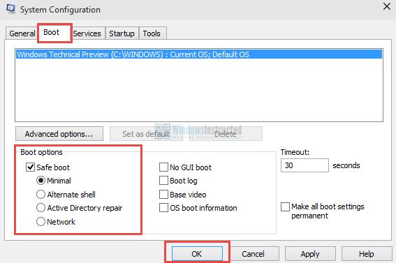 Windows 10 MSConfig: Safe Mode How to Start Windows 10 in Safe Mode? safe mode