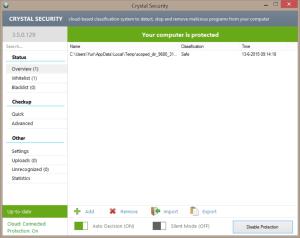 Crystal Security. Features Crystal Security. Features