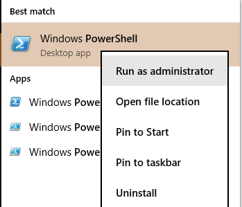 Run as Administrator How to Reinstall / Restore Preinstalled Windows Apps