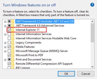 Internet Explorer 11 How to Remove Internet Explorer from Windows 10 remove internet explorer
