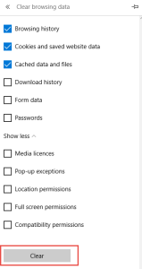 Clear Browsing Data How to Remove Microsoft Edge Browsing Data (Cache, History, Cookies..)