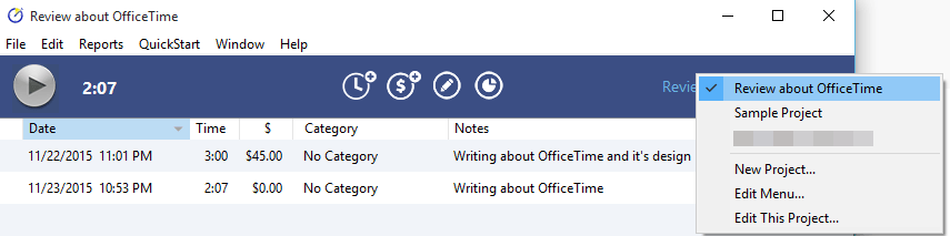 Keep Track of Your Office Time with OfficeTime. officetime