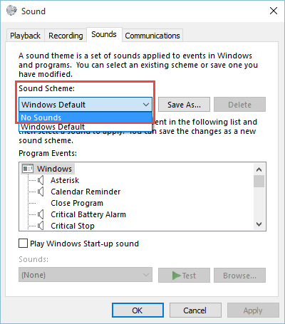 2015-11-21_14-16-44 How Do I Disable / Enable System Sound Effects in Windows 10 sound effects in windows 10