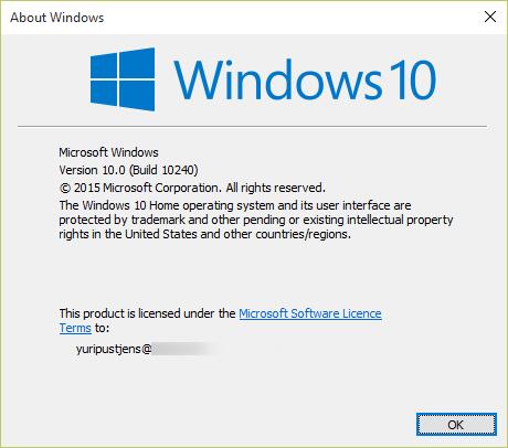 FIX: Windows 10 Anniversary Update: Error 0x80070057