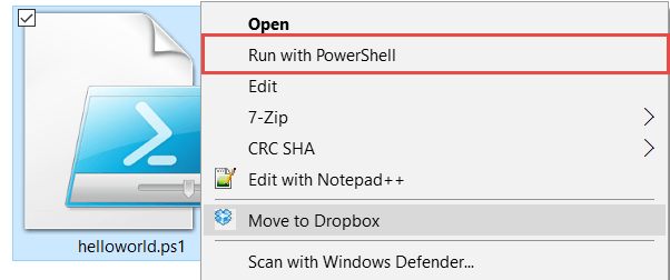 How to Run a PowerShell Script On Windows 10, 8 and 7