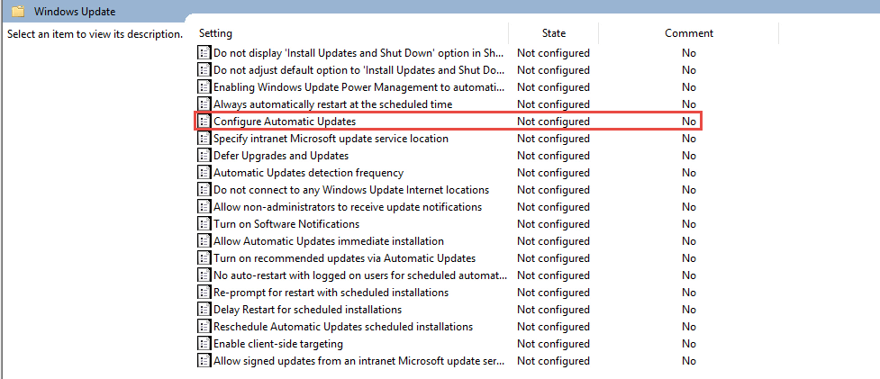 Configure Automatic Windows Update How to Turn Off / Deactivate Automatic Updates in Windows 10 automatic updates