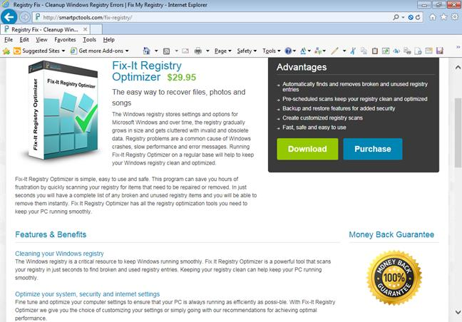 pic 8 Why Memory Optimizers, Driver Updaters, and Registry Cleaners are NOT recommended and should be avoided optimizer
