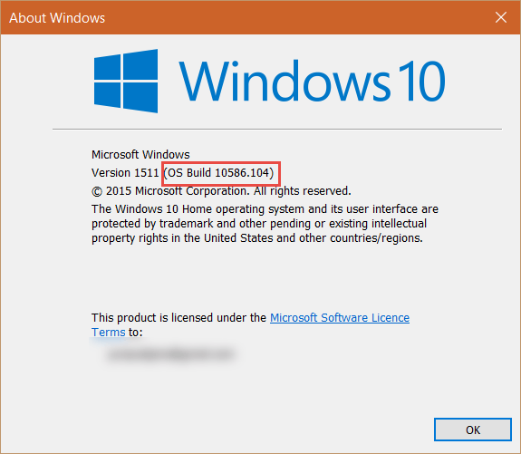 Build Number How to Find the Windows 10 Build Number