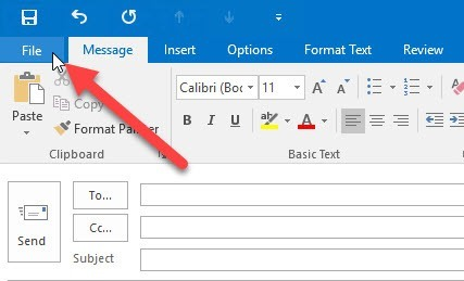 Outlook 2016: File How-to: Creating Email Templates in Outlook 2016 Email Templates