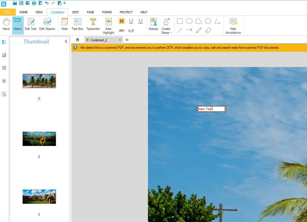 how to add extra pages on a rich text document