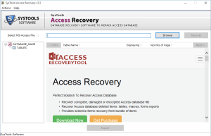 run access repair tool Safest Way to Recover Corrupt Access Database File & Deleted Records