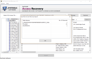 save the exported file Safest Way to Recover Corrupt Access Database File & Deleted Records