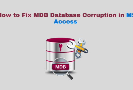 recover corrupt access database