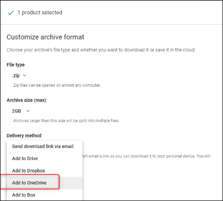Add to OneDrive Perform Google Drive to OneDrive Migration Manually Step by Step