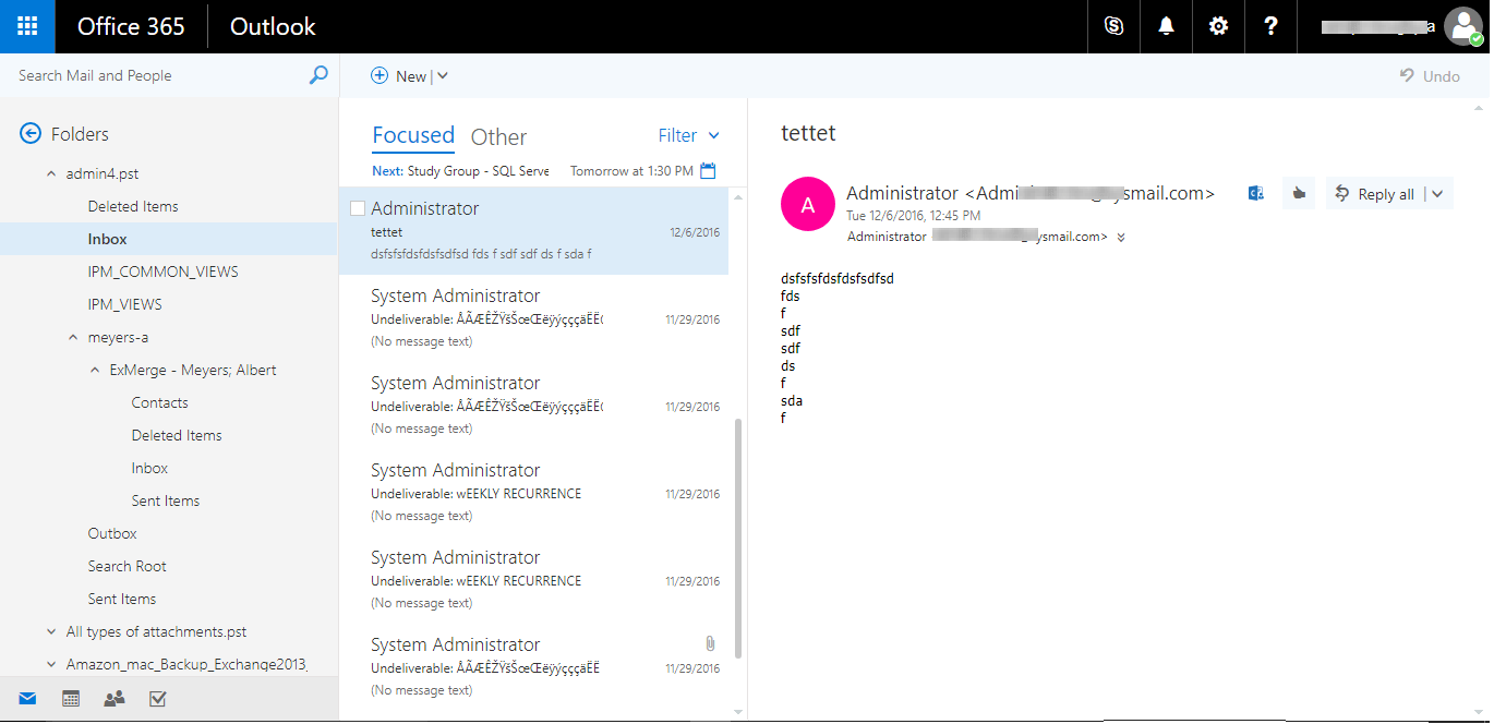 Import PST to Office 365 by Network Upload & O365 Import