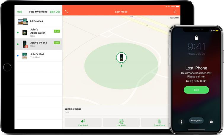 Tracking your iPhone using Windows