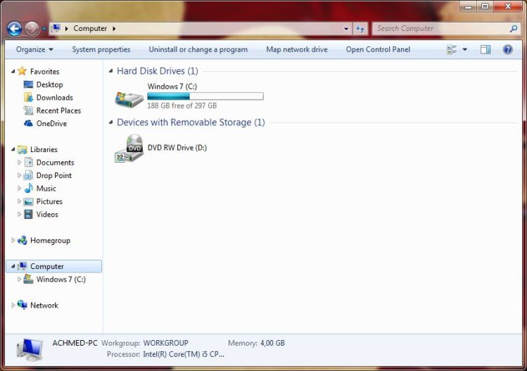 Ruang Kosong Upgrade Windows 10