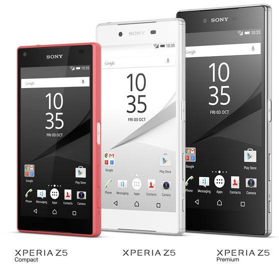 Keluarga Sony Xperia Z5
