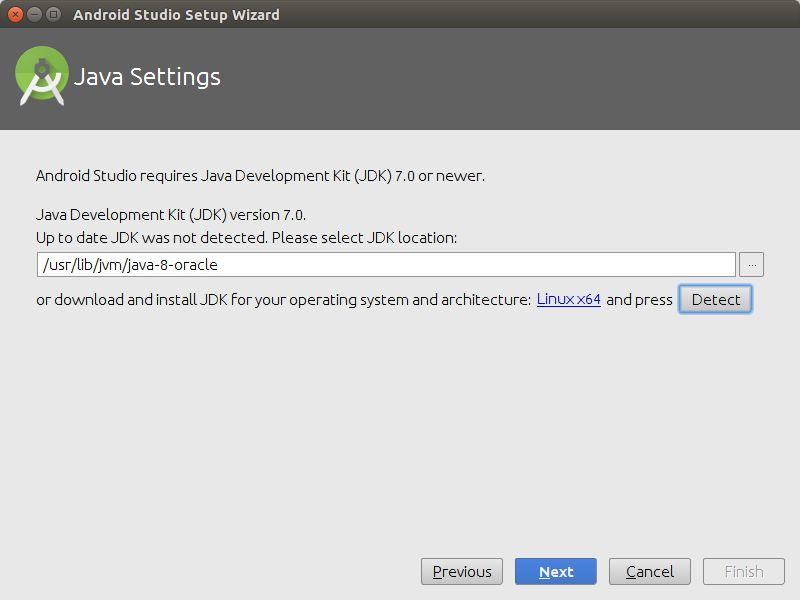 Instalasi Android Studio Jdk