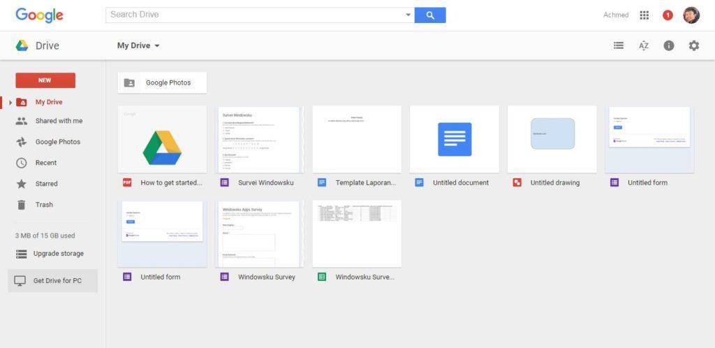 Cara Mengakses File Di Google Drive