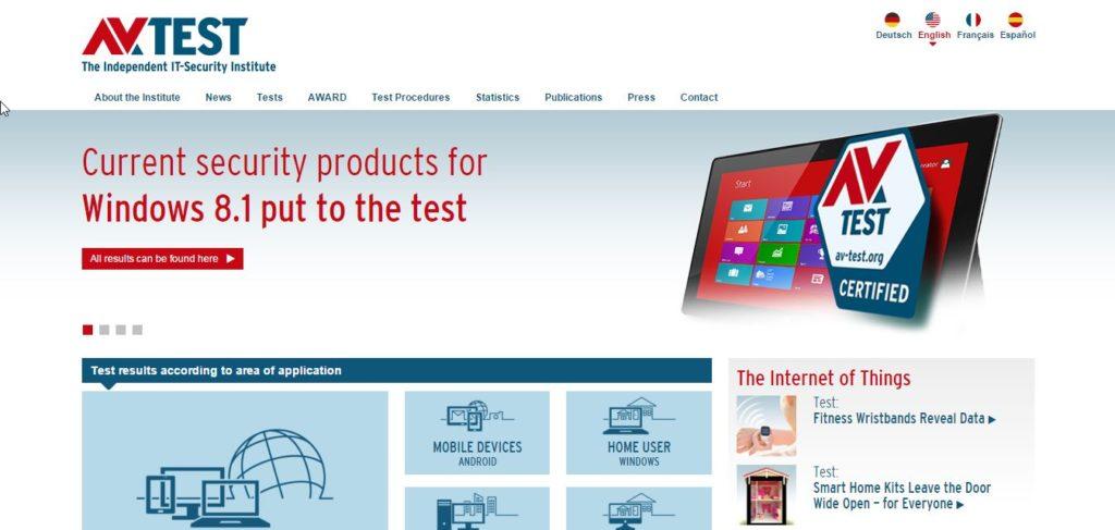 Av Test Homepage