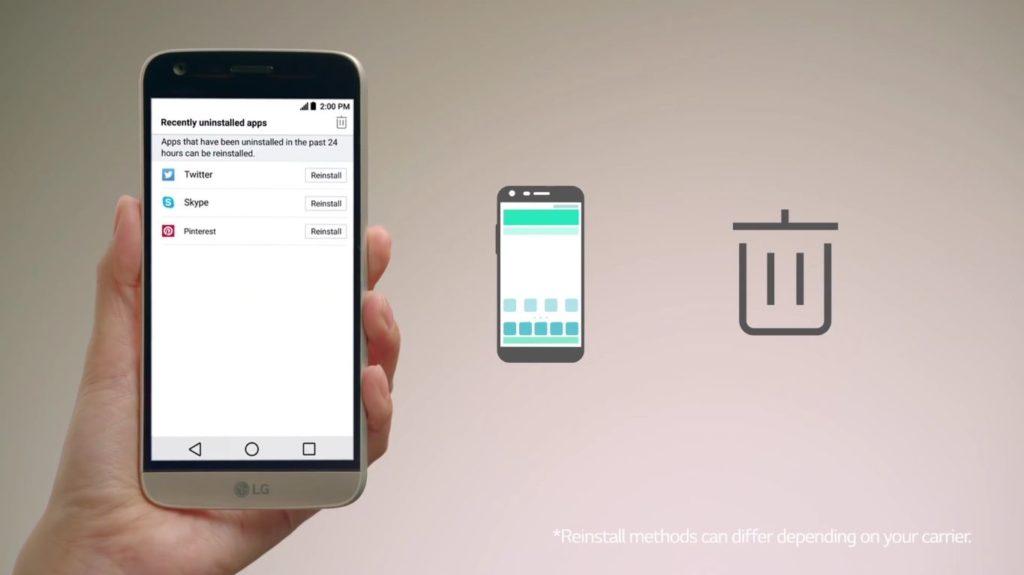 06 Reinstall Apps Di LG G5