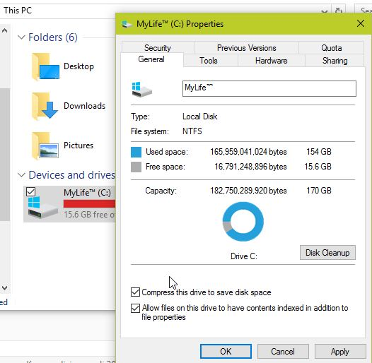 Kompres Data Dengan File Explorer