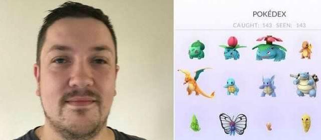 Seorang Pria Berhasil Menangkap Semua Pokemon