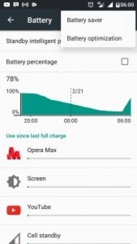 Battery Optimization Di Android