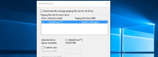 Cara Setting Virtual Memory Di Windows 10