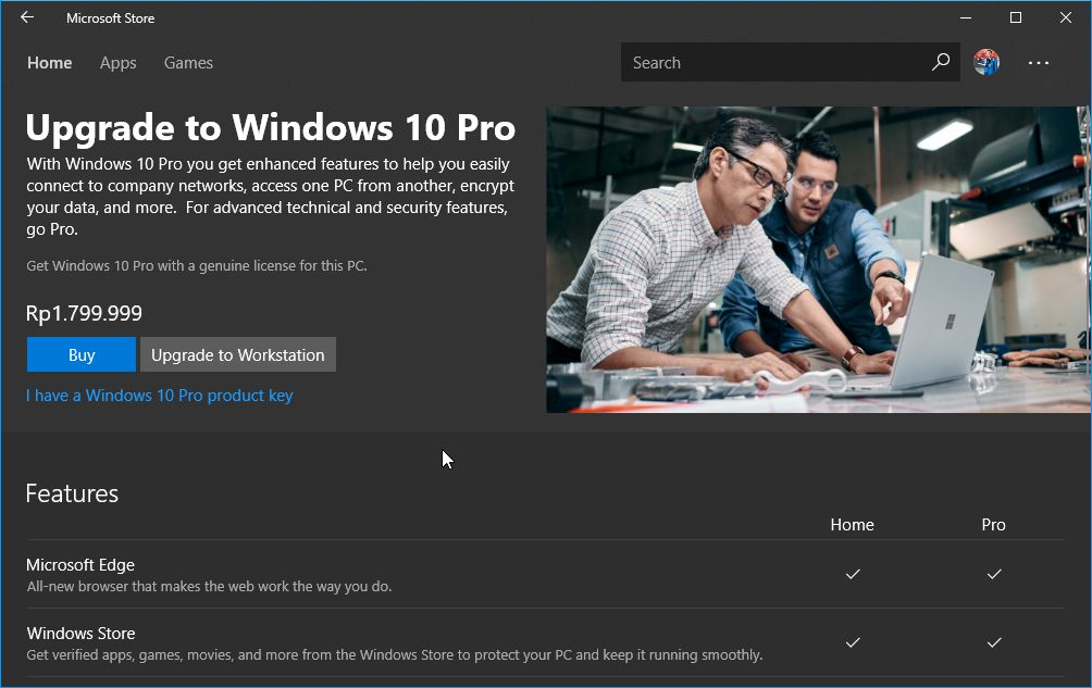 Upgrade Ke Windows 10 Pro