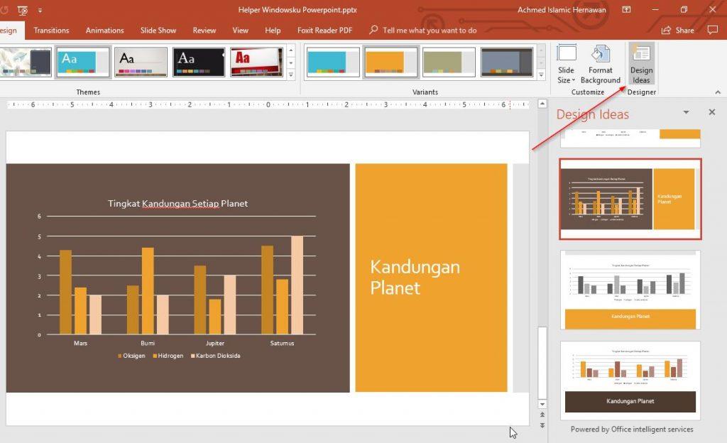 Design Ideas Powerpoint