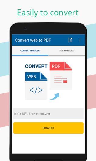 Aplikasi Convert Web To Pdf Android