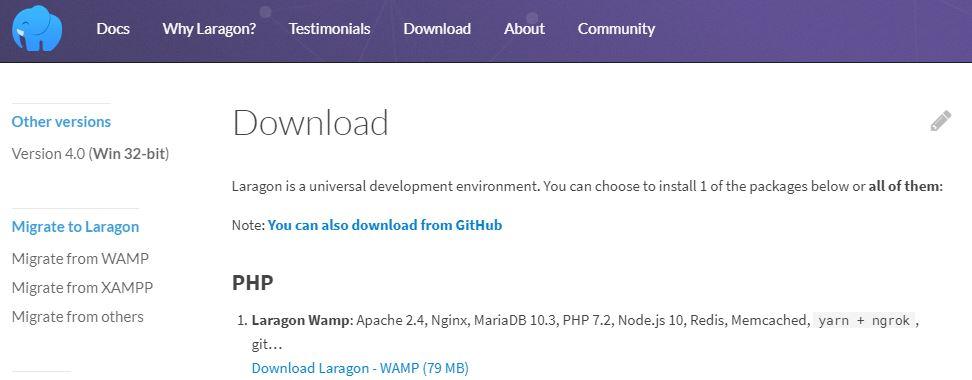 Download Laragon