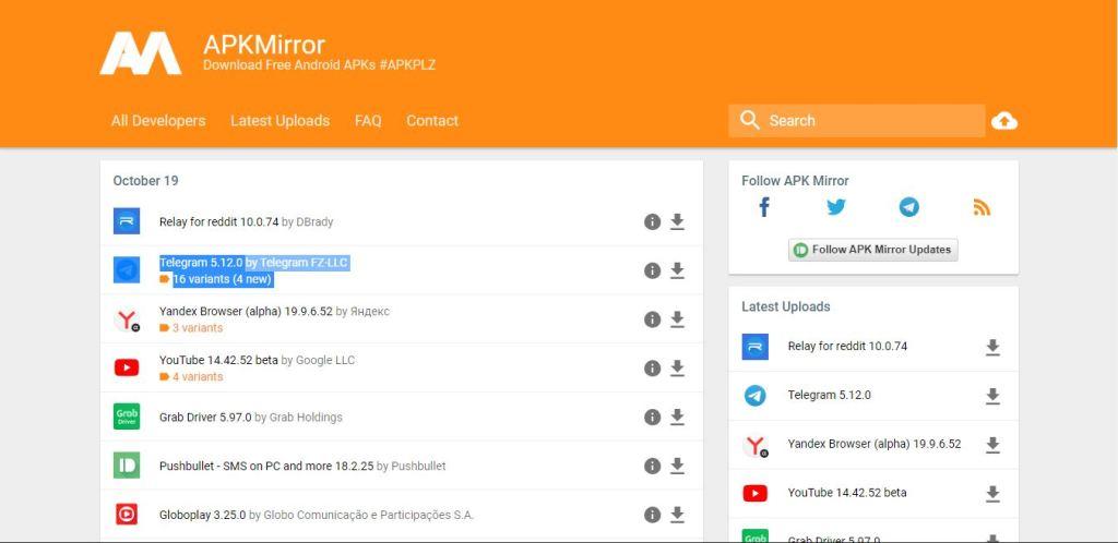 Situs Apk Mirror